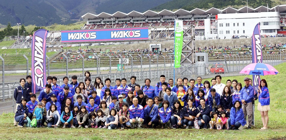 WAKO'Sのスタッフたち